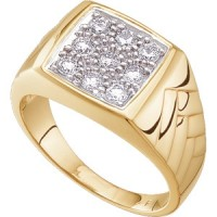 Global Wealth Trade Gents Diamond Ring $2,450